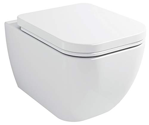 BERNSTEIN Luxus Wand-Hänge WC Toilette Softclose CH101