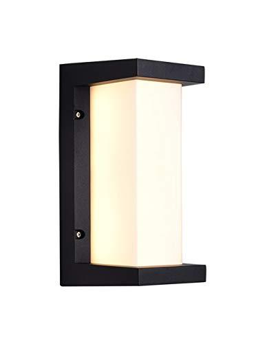 18W Wandlampen Buiten LED Wandkandelaars IP65 Waterdicht Verlichting Wandlamp Energiebesparend Modern Led Buitenlicht voor Veranda Deuropening Tuin Patio Yard Trap Buiten Muur, Warm Wit