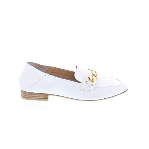 Bronx Loafer Ceryl 66065-B Lackleder Slipper, Größe:38 EU, Farbe:Weiß