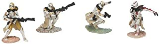 Hasbro Star Wars Unleashed Battle 4 Pack Aayla Secura's 327th Star Corps