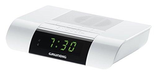 Grundig KSC 35 Uhrenradio (UKW-Tuner) mit Sleeptimer-Funktion weiß