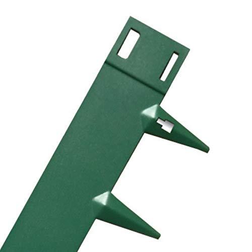 CORE Edge Bordure de pelouse 5 m | Acier flexible | Face de 65 mm | Lot de 5 x 1075 mm