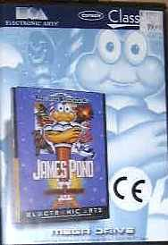 james pond II codename robocod mega drive