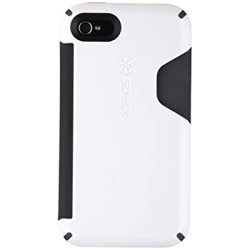 Speck SPK-A0334 CandyShell Card Phone Case for iPhone 4 (MoonSicle White, Fits Verizon and AT&T Models)