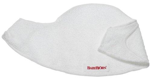 Babybjörn 031021 - Lätzchen für Babytrage 2er-Pack, Weiss