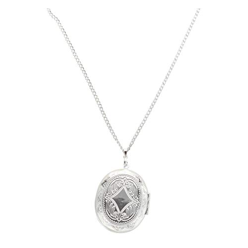 Silver Plated Oval Photo Picture Locket Pendant Necklace 2x1.5' Bracelets Earrings Rings Necklaces