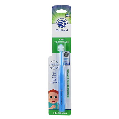Brilliant Baby Toothbrush by Baby Buddy - for Ages...