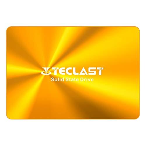 TECLAST SSD 内蔵 120GB 2.5インチ 3D NAND採用 SATA3 6Gb/s 7mm PS4動作確認済 金属製の筐体 日本語取扱説...