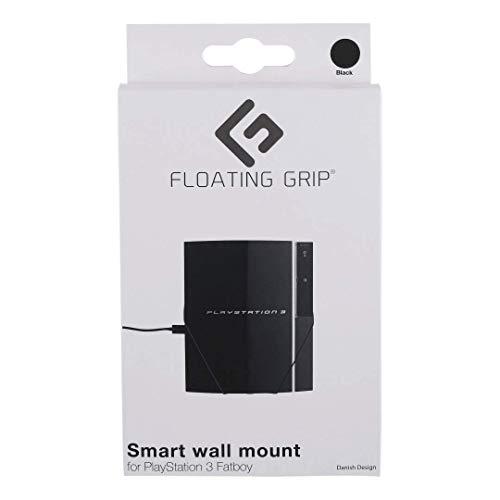 Wandhalterung für PlayStation 3 Fatboy von FLOATING GRIP® - Zum Patent angemeldet durch FLOATING GRIP ApS - Made in Dänemark