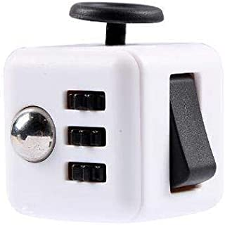 Fidget Cube Relieves Anxiety and Stress For Adults Squeeze Fun Fidget Cube Desk Spin Toys