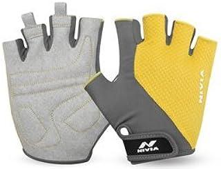 NIVIA Coral Micro Sports Glove - Yellow/Grey