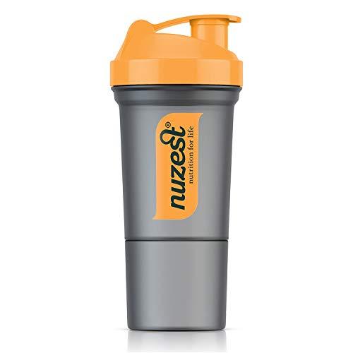Nuzest 350 ml Orange BPA Free Shaker