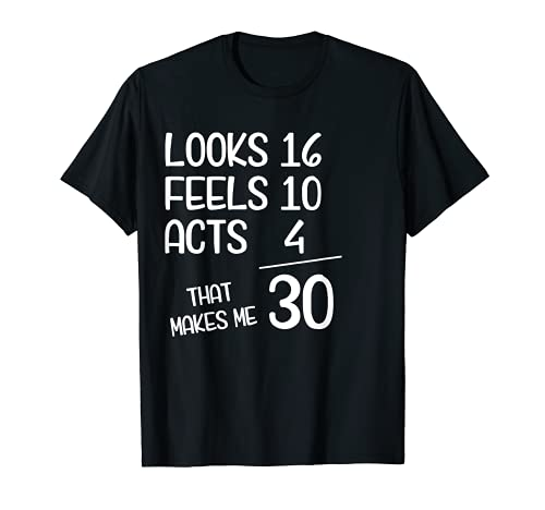 Funny 30th Birthday Gift 30 Years old Born in 1990 T-Shirt