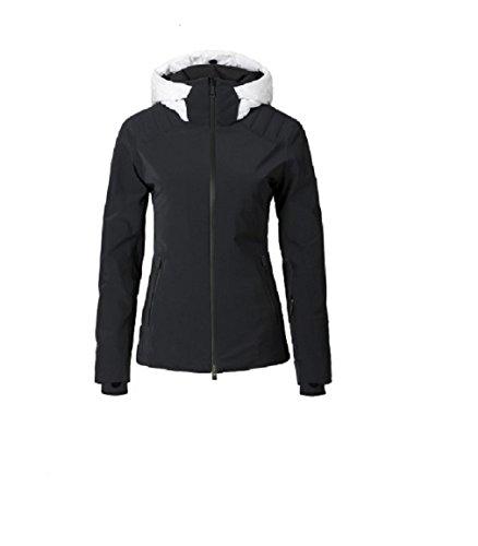 Kjus Womens Scylla Jacket Black/White Size 42