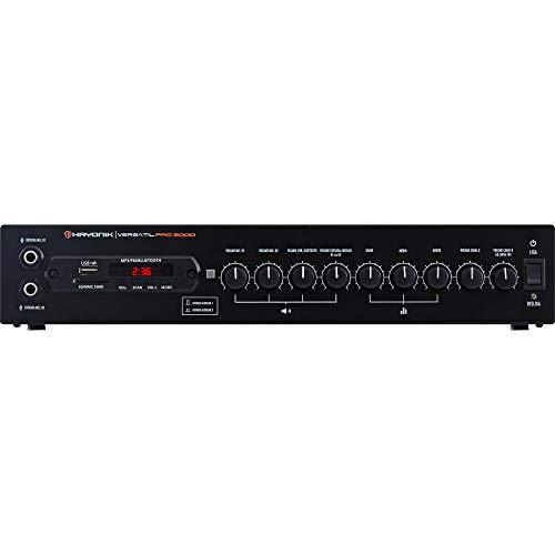 Amplificador 200W com Bluetooth Versátil, Hayonik, PRO-2000, Preto