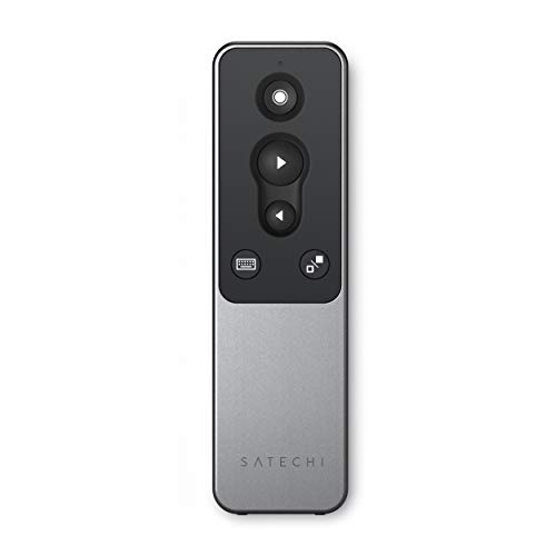 Satechi Mando para presentaciones por Bluetooth con puntero láser R1 – Presentador inalámbrico para PowerPoint y Keynote – Compatible con 2020 iPad Air/Pro, 2020 MacBook Pro/Air M1
