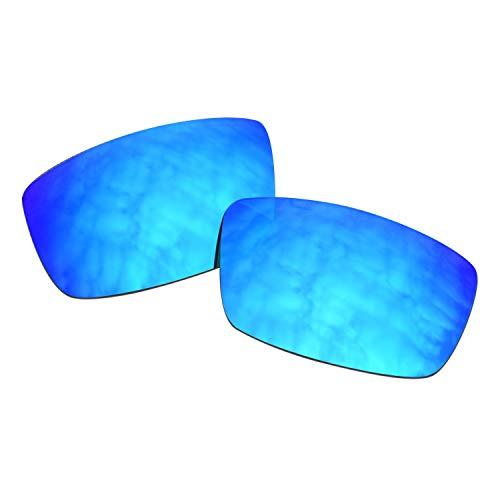 SOODASE Para SPY Logan Gafas de sol Azul Lentes de repuesto polarizadas