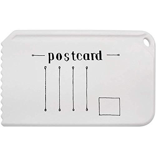 'Leere Postkarte' Kunststoff-Eiskratzer (IC00003156)