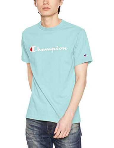 [チャンピオン] スクリプトロゴTシャツ ベーシック C3-P302 メンズ ミント 日本 XL (日本サイズXL相当)