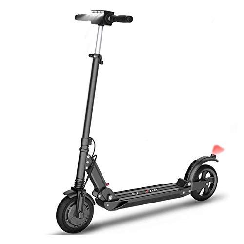 Scooter EléCtrico con NeumáTicos De 8.5 '' Plegable para Adultos Velocidad MáXima 35 Km/H Patinete EléCtrico CercaníAs 350W Patinete EléCtrico Impermeable RáPido con Pantalla LED