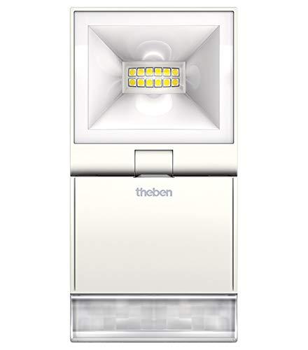 Theben LED Strahler theLeda S10 WH m. Bewegungsmelder LUXA Downlight/Strahler/Flutlicht 4003468100882