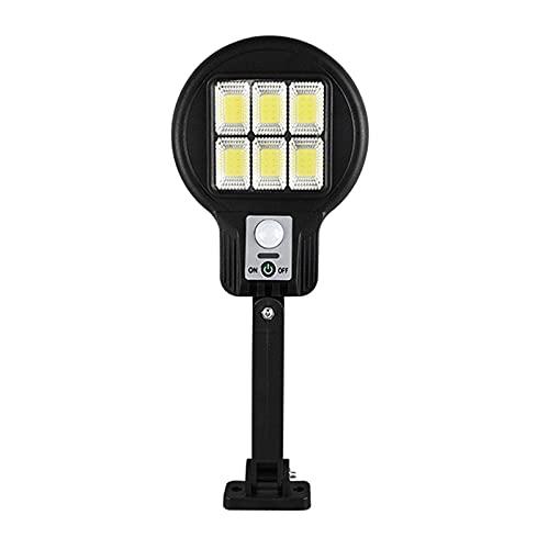 Fenteer Focos solares LED al Aire Libre Paisaje Separado IP65 Impermeable iluminación de la lámpara de Seguridad Auto-inducción para Patio jardín Entrada - 182-6 Seis Rejillas