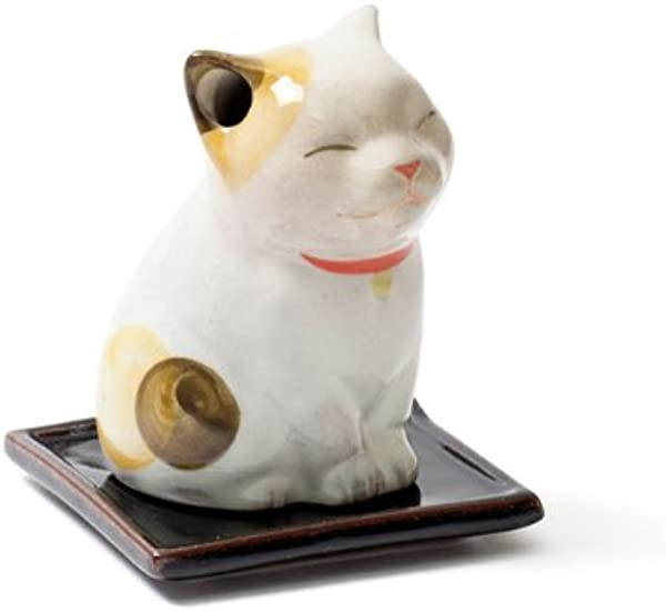 Shoyeido S Kitty Cat Maneki Neko Incense Holder