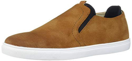 Unlisted by Kenneth Cole Men's Stand Slip On Sneaker, Tan, 12 M US