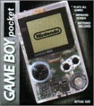 Game boy pocket clear console - PAL -