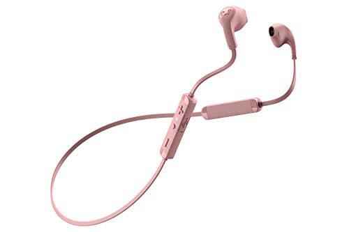 Fresh 'N Rebel Flow - Auriculares intraurales inalámbricos con control remoto integrado y micrófono, color rosa