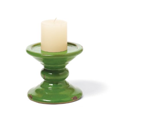 Foreside Prosecco Candleholder, Lime