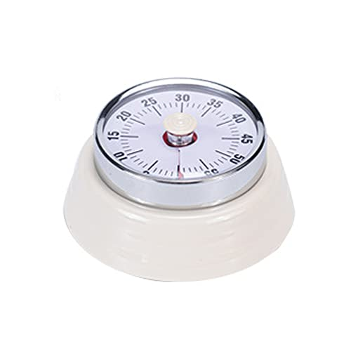 YXYOL Magnetic Mechanical Kitchen Timer,Clock Digital Timer,Countdown Timer 60 Minute Visual Time Management Tool Baking for Kids,Teachers and Adults,3673mm