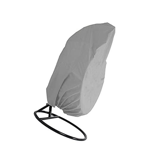 Errum Funda protectora para silla colgante de Patio, tejido Oxford 210D, impermeable, antipolvo, con cremallera, 115 x 190 cm