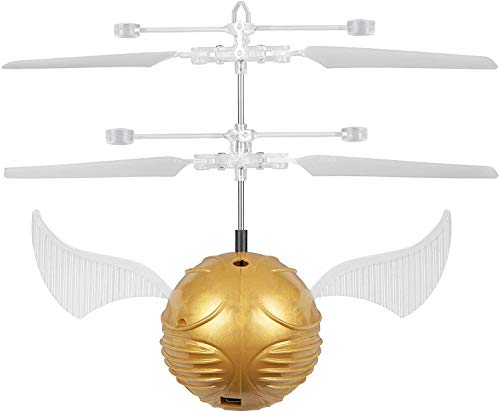 World Tech Toys Golden Snitch Harry Potter IR UFO Ball Helicopter, Multi