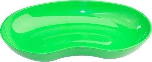 Medi-Inn Nierenschale aus Kunststoff | 36 Stück | wiederverwendbar | lebensmittelecht, desinfizierbar, autoklavierbar | stabil & vielseitig einsetzbar (grün)