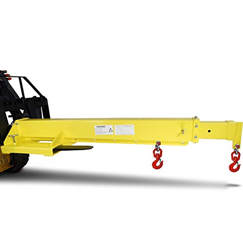 Titan Mobile Crane Forklift Extension with Truss, Hoist, Jib, Boom, and Hook