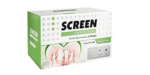 Packung mit 2 Fruchtbarkeitstest für den Mann - Feststellung der Spermienzahl bei Planung einer Schwangerschaft