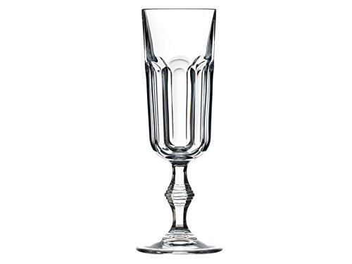 Rcr Provenza Vap Flute, Verre, Transparent, Confection de 6 Pièces, 16 cl