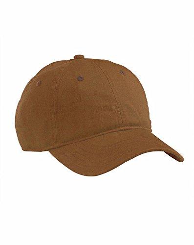 100% ORGN CTN 8OZ TWILL CAP (LEGACY BROWN) (OS)