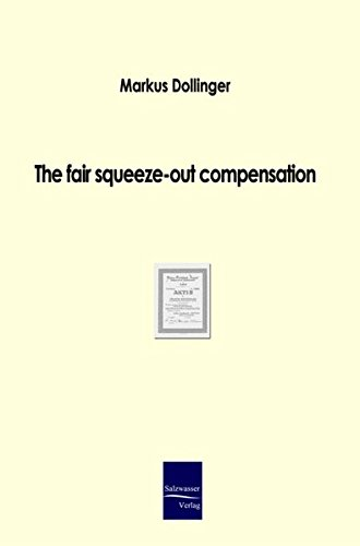 The fair squeeze-out compensation