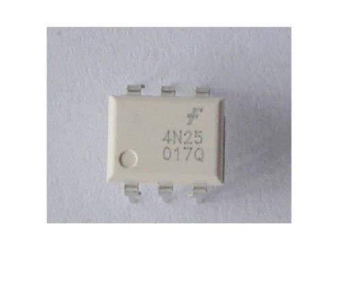 UIOTEC 10 PCS 4N25 6Pin Optoisolators Transistor DIP*