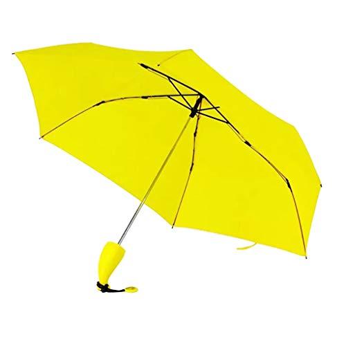 Moent - Paraguas para mujer, diseño creativo, diseño de plátano, Amarillo, As show