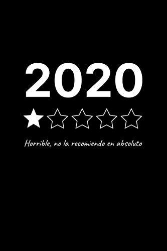 2020: HORRIBLE, NO LA RECOMIENDO EN ABSOLUTO: REGISTRA, CALIFICA Y CREA UN RANKING CON LAS PELÍCULAS VISTAS | CREA TUS PROPIAS CRÍTICAS CINEMATOGRÁFICAS | REGALO ORIGINAL PARA LOS AMANTES DEL CINE.