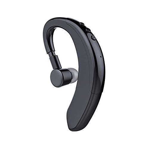Bluetooth Headset V5.0, Single Ear Hook Bluetooth Earpiece, Wireless...