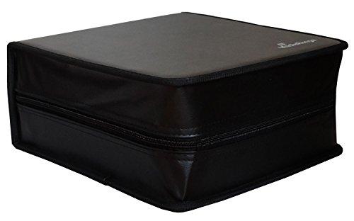 MediaRange Archivierungsmappe (für 400 Discs, Kunstleder) schwarz