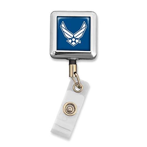 U.S. Air Force Badge Reel with Alligator Clip