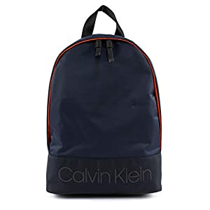 31ZNshNI1gL. SS300  - Calvin Klein Shadow Round Backpack Navy