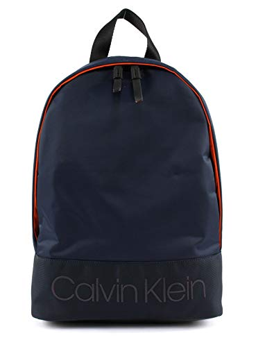 31ZNshNI1gL - Calvin Klein Shadow Round Backpack Navy