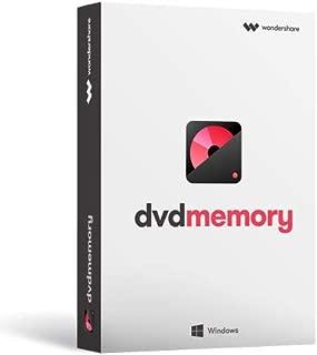 Wondershare DVD Memory (Windows版) 簡単かつ強力なDVDツールボックス DVD作成 BD作成 永久ライセンス|ワンダーシェアー
