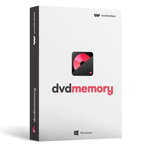 Wondershare DVD Memory (Windows版) 簡単かつ強力なDVDツールボックス DVD作成 BD作成 永続ライセンス|ワンダーシェアー